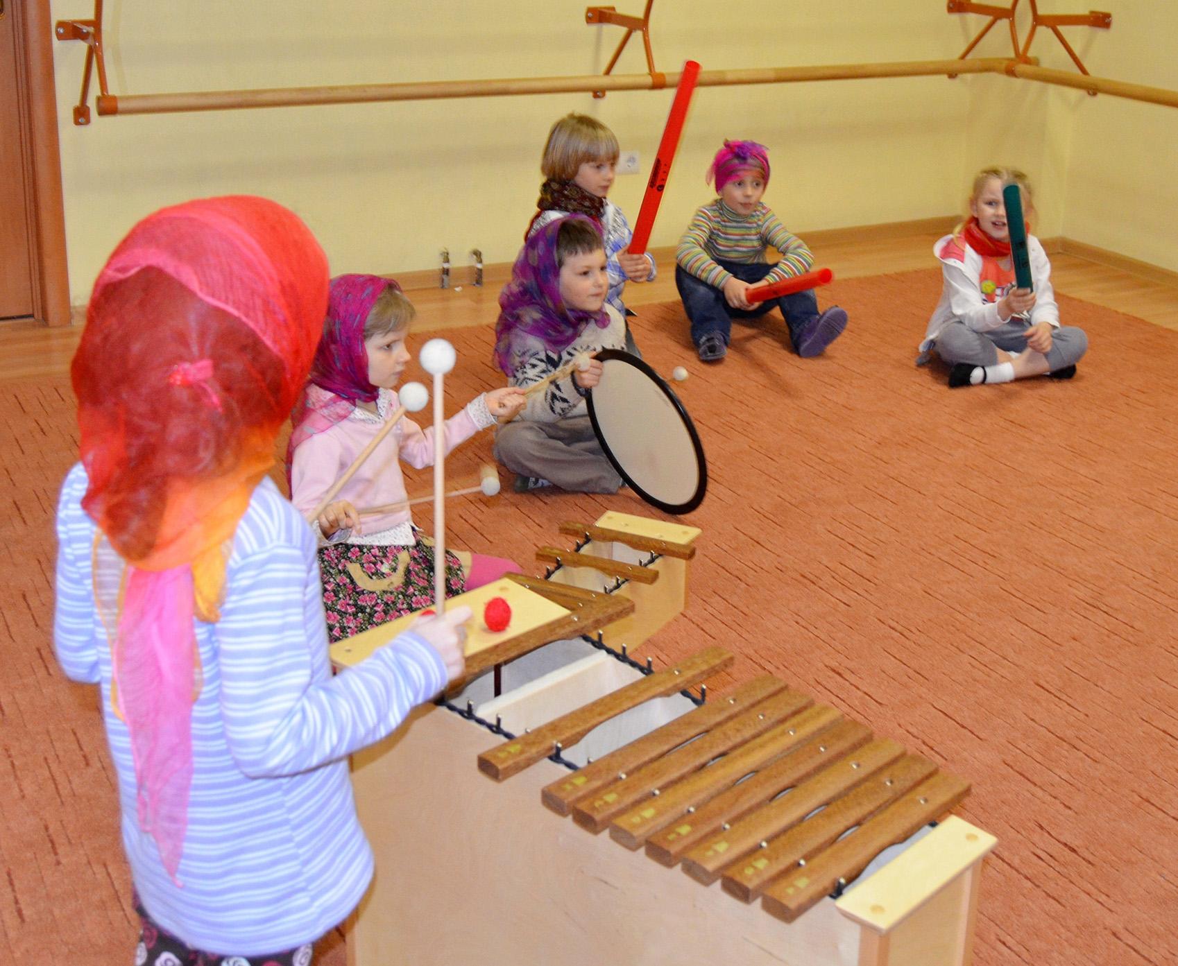 Использование элементов системы Карла Орфа в развитии музыкальных способностей детей