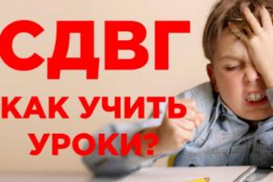 Воспитание, обучение и развитие детей с СДВГ в образовательных учреждениях в условиях ФГОС, 72 часа